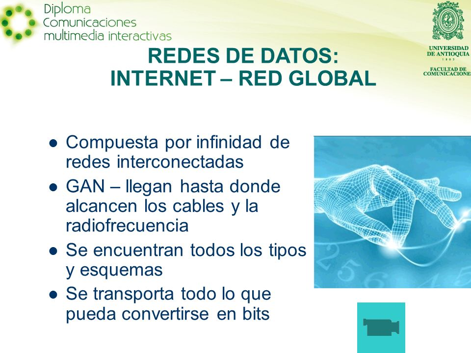 REDES DE DATOS: INTERNET – RED GLOBAL