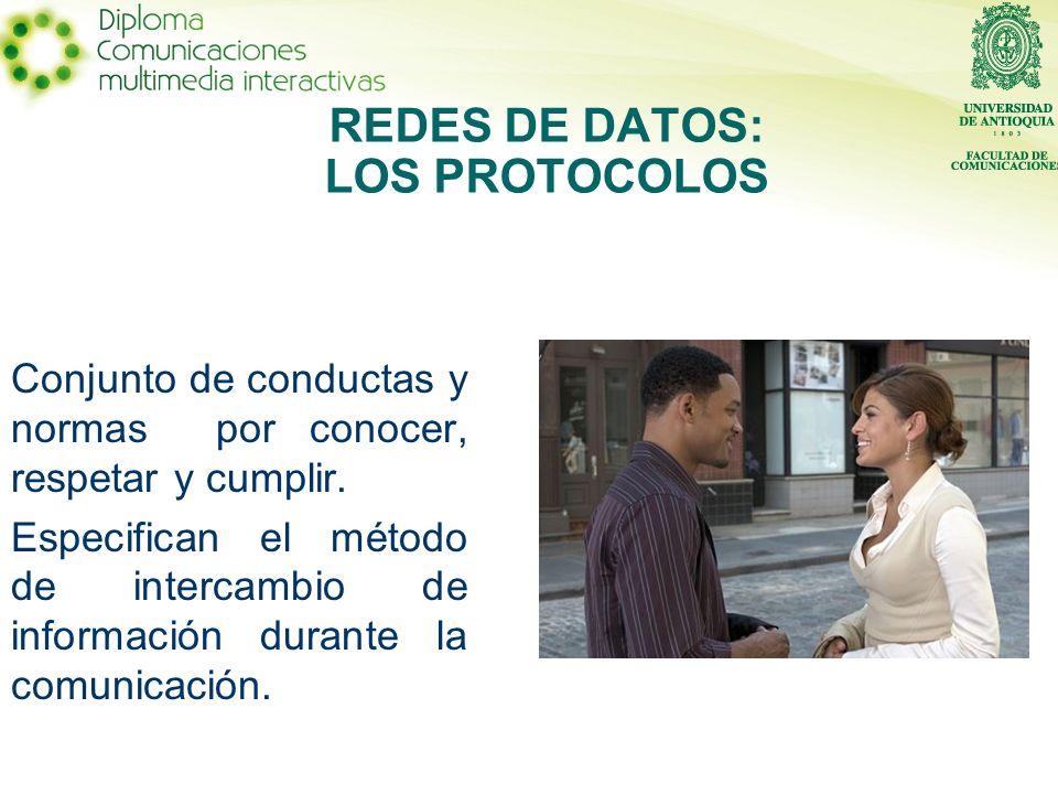 REDES DE DATOS: LOS PROTOCOLOS