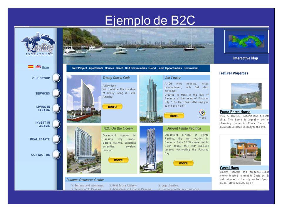 Ejemplo de B2C