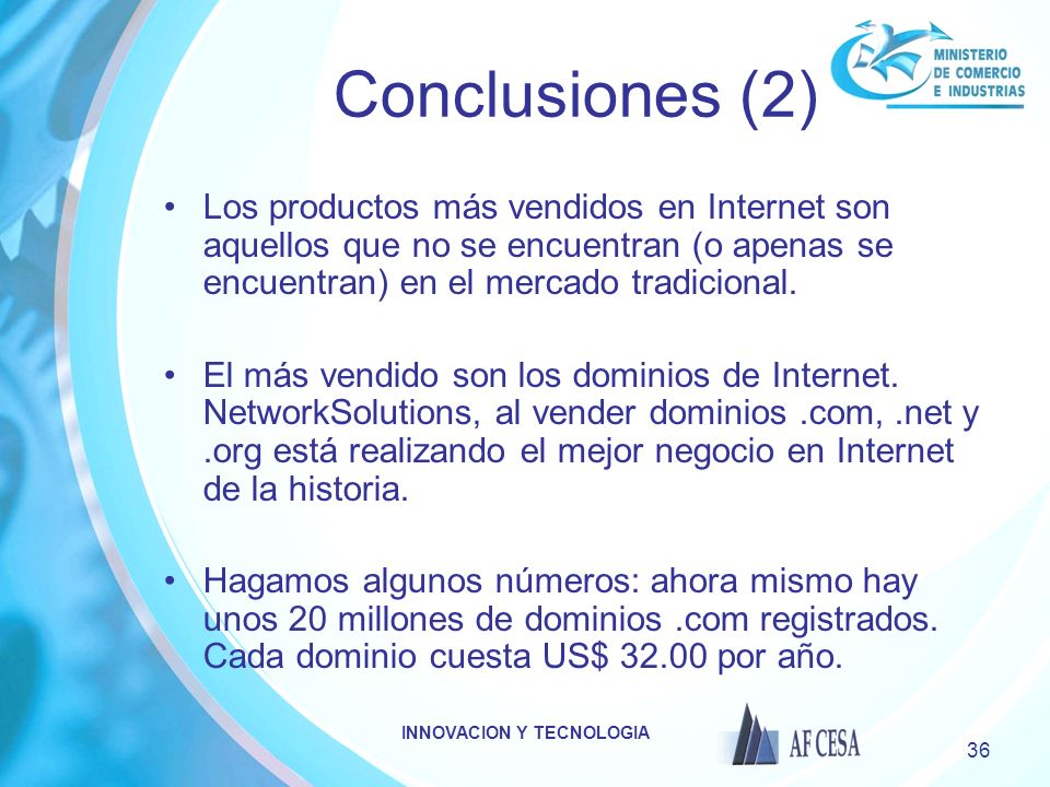 INNOVACION Y TECNOLOGIA