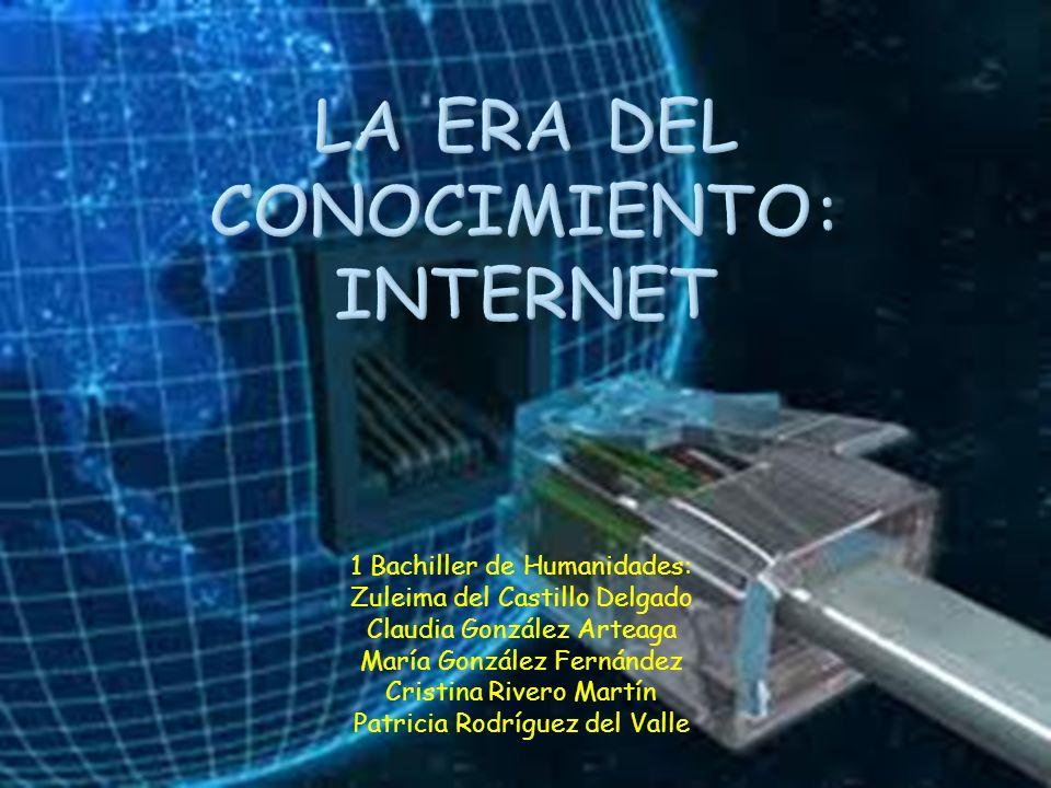 La era del conocimiento: internet