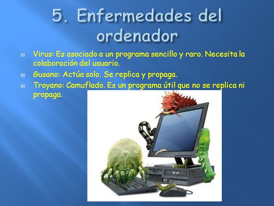 5. Enfermedades del ordenador