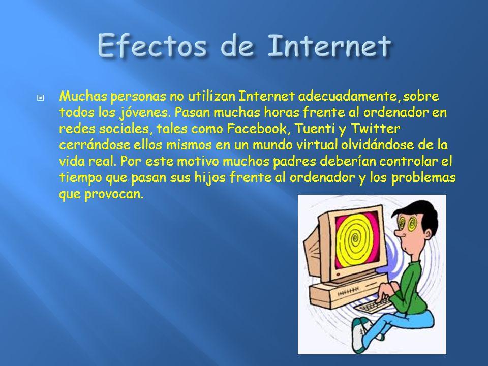 Efectos de Internet