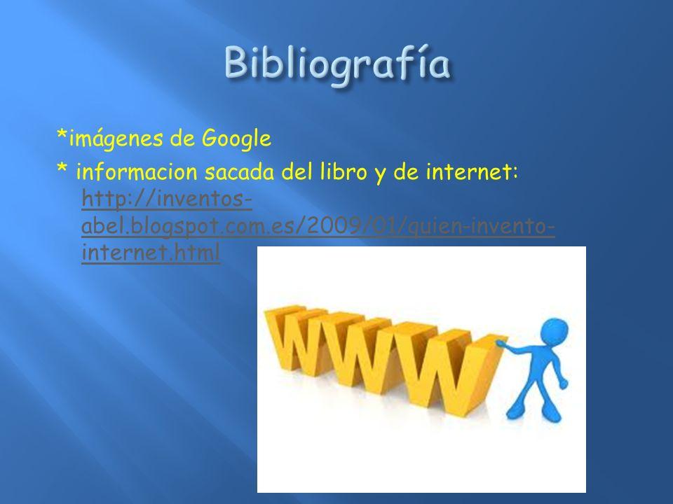 Bibliografía *imágenes de Google