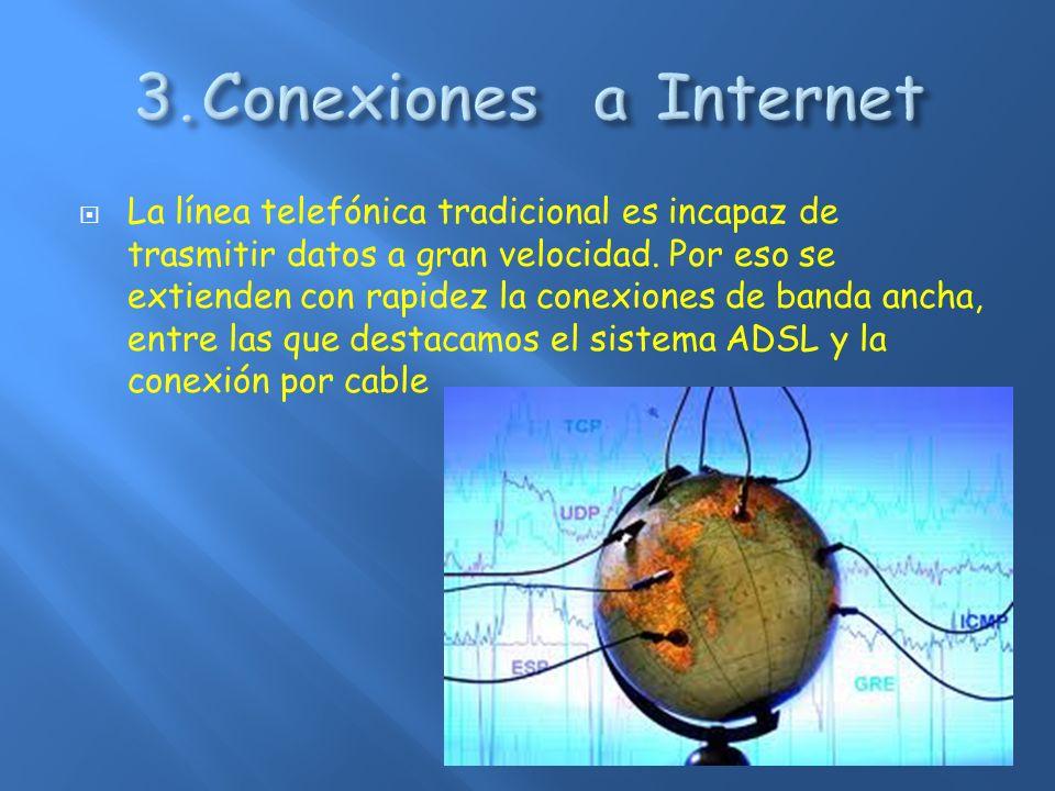 3.Conexiones a Internet