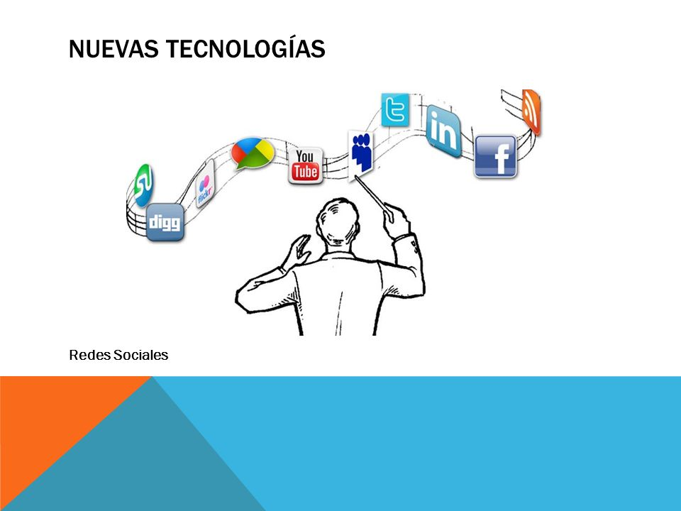 NUEVAS TECNOLOGÍAS Redes Sociales