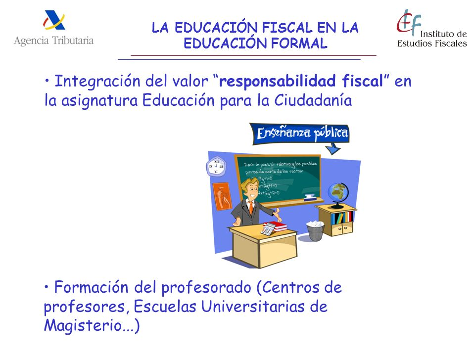 LA EDUCACIÓN FISCAL EN LA