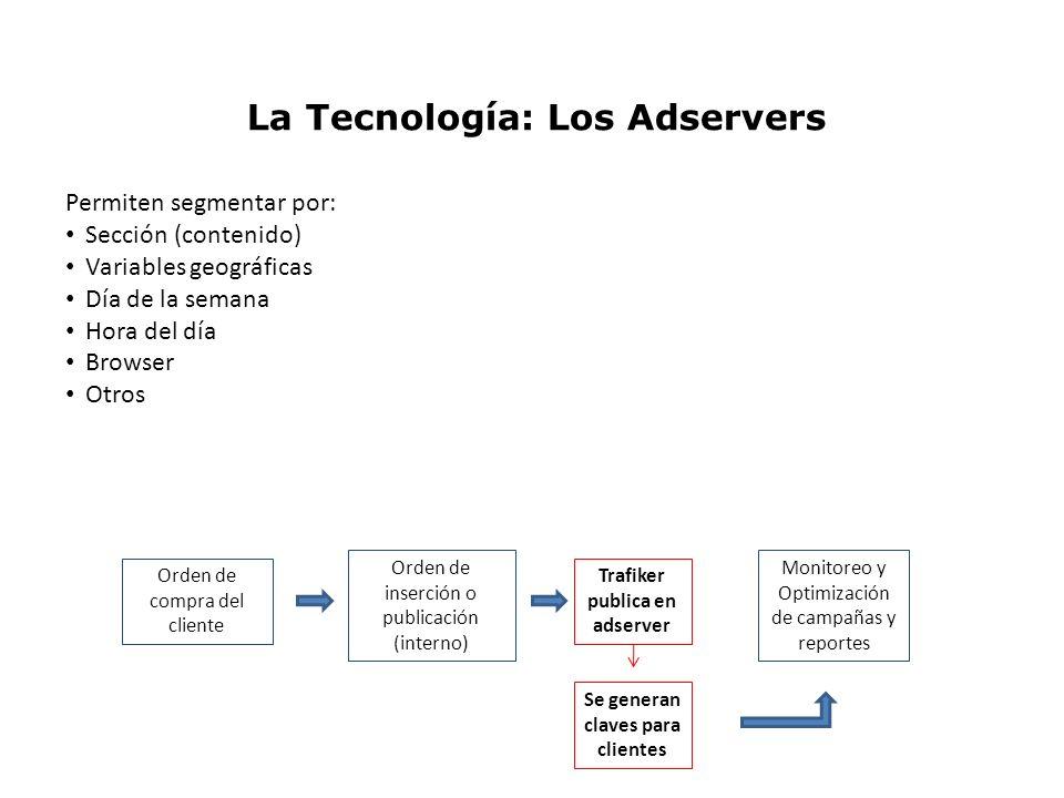La Tecnología: Los Adservers