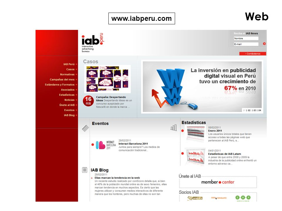 Web www.iabperu.com