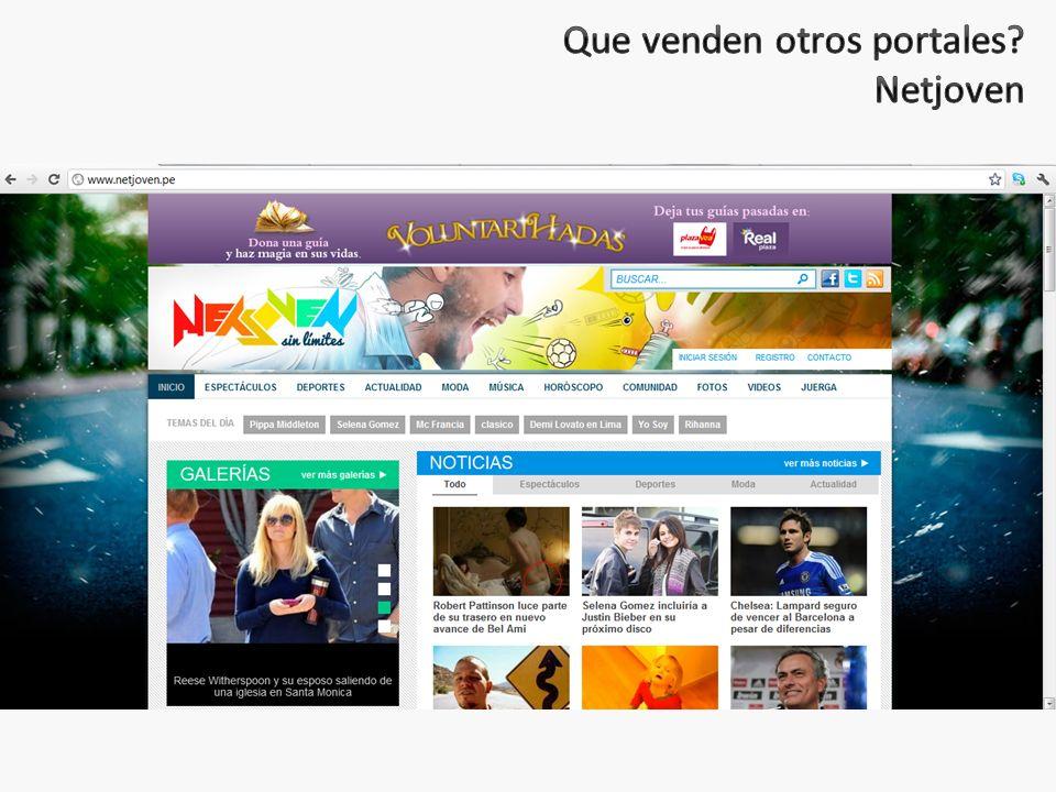 Que venden otros portales Netjoven