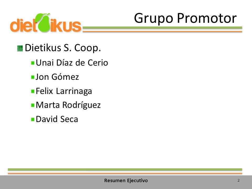 Grupo Promotor Dietikus S. Coop. Unai Díaz de Cerio Jon Gómez