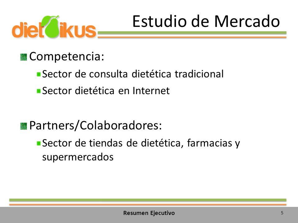 Estudio de Mercado Competencia: Partners/Colaboradores: