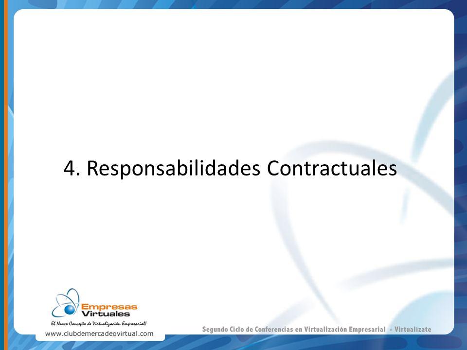 4. Responsabilidades Contractuales