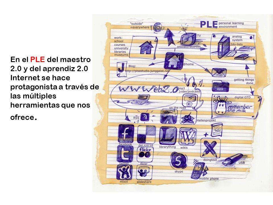 En el PLE del maestro 2. 0 y del aprendiz 2