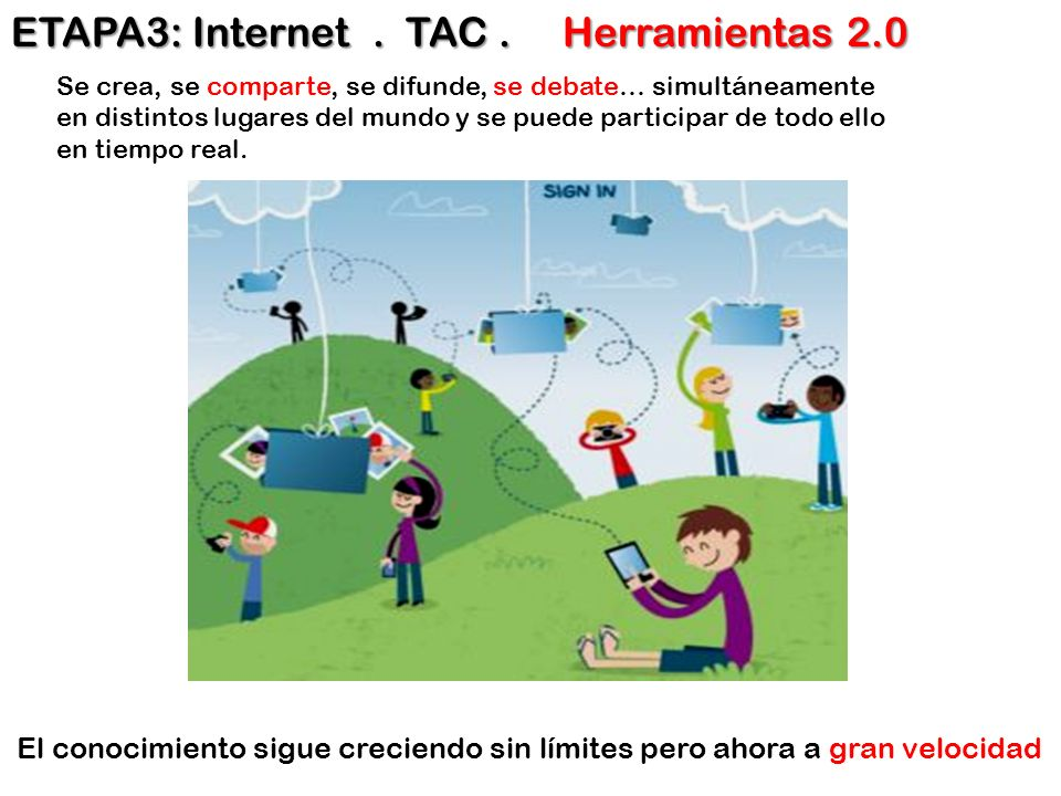 ETAPA3: Internet . TAC . Herramientas 2.0