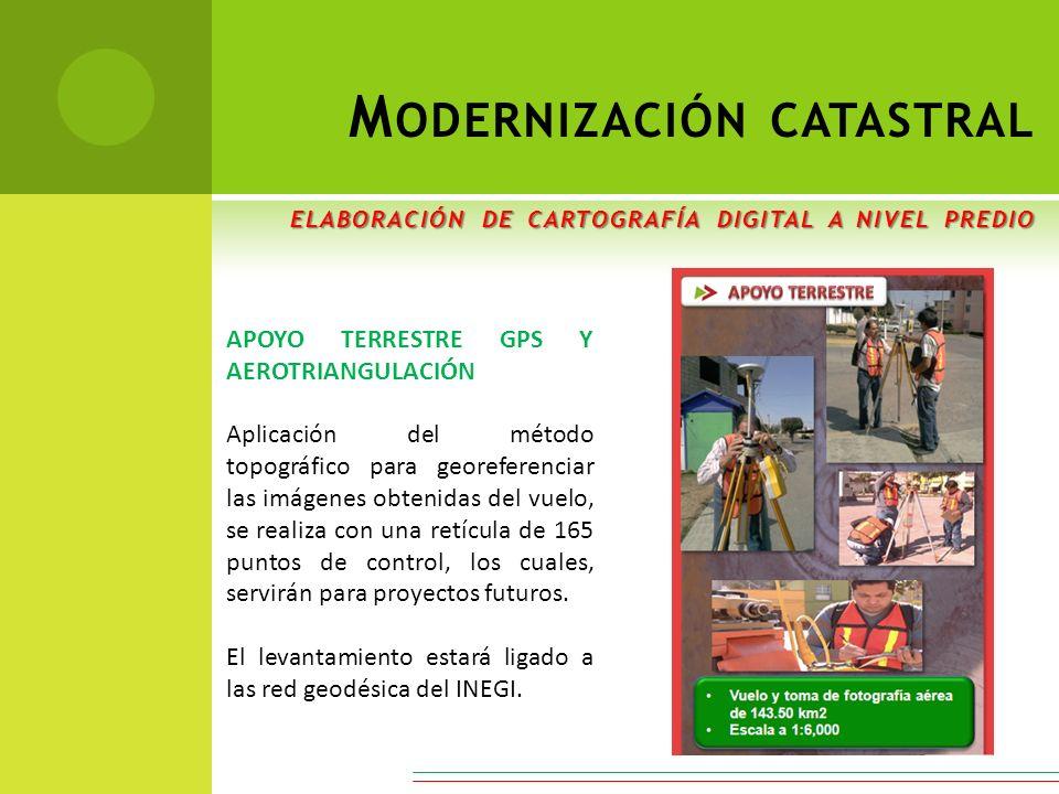 Modernización catastral