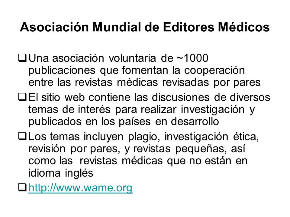 Asociación Mundial de Editores Médicos