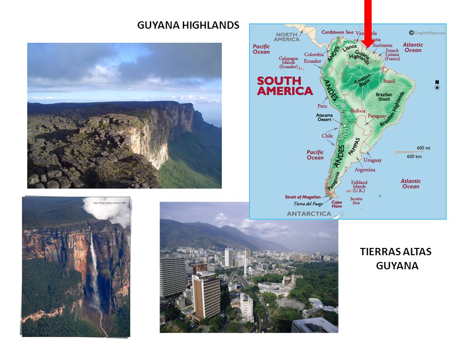 GUYANA HIGHLANDS TIERRAS ALTAS GUYANA