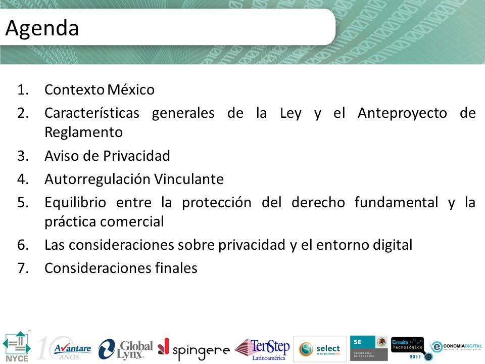 Agenda Agenda Contexto México