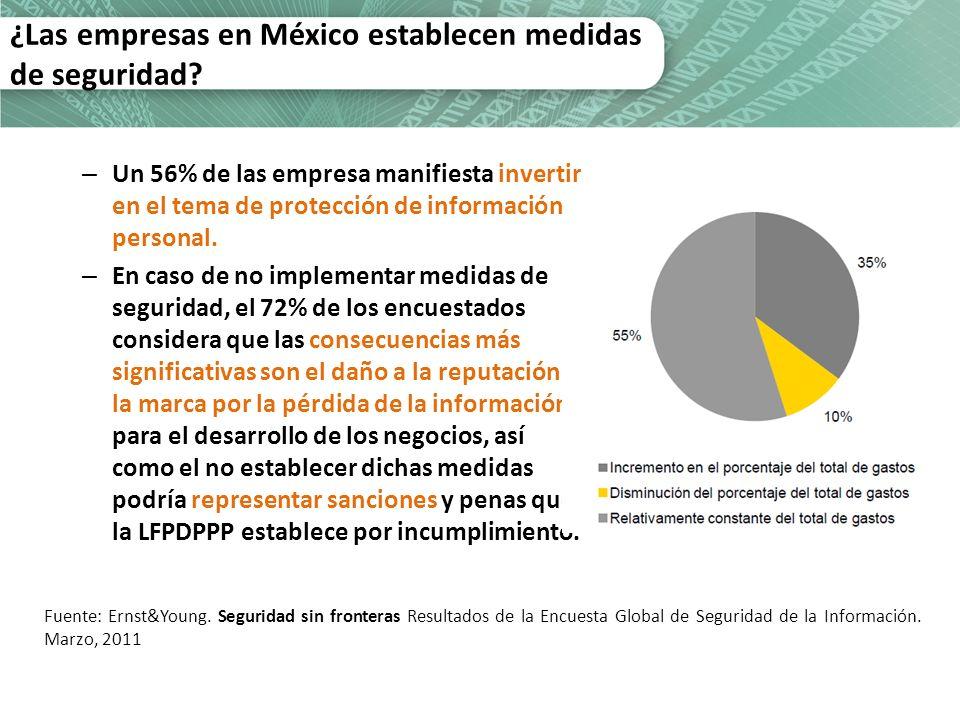 ¿Las empresas en México establecen medidas de seguridad