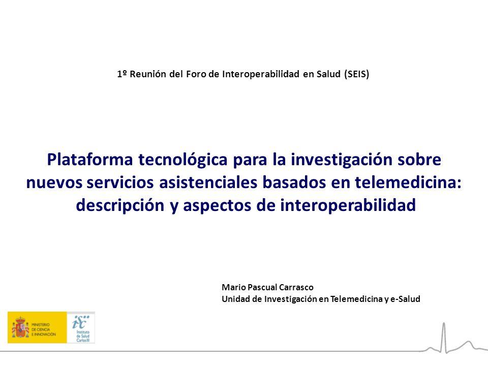 Plataforma tecnológica para la investigación sobre