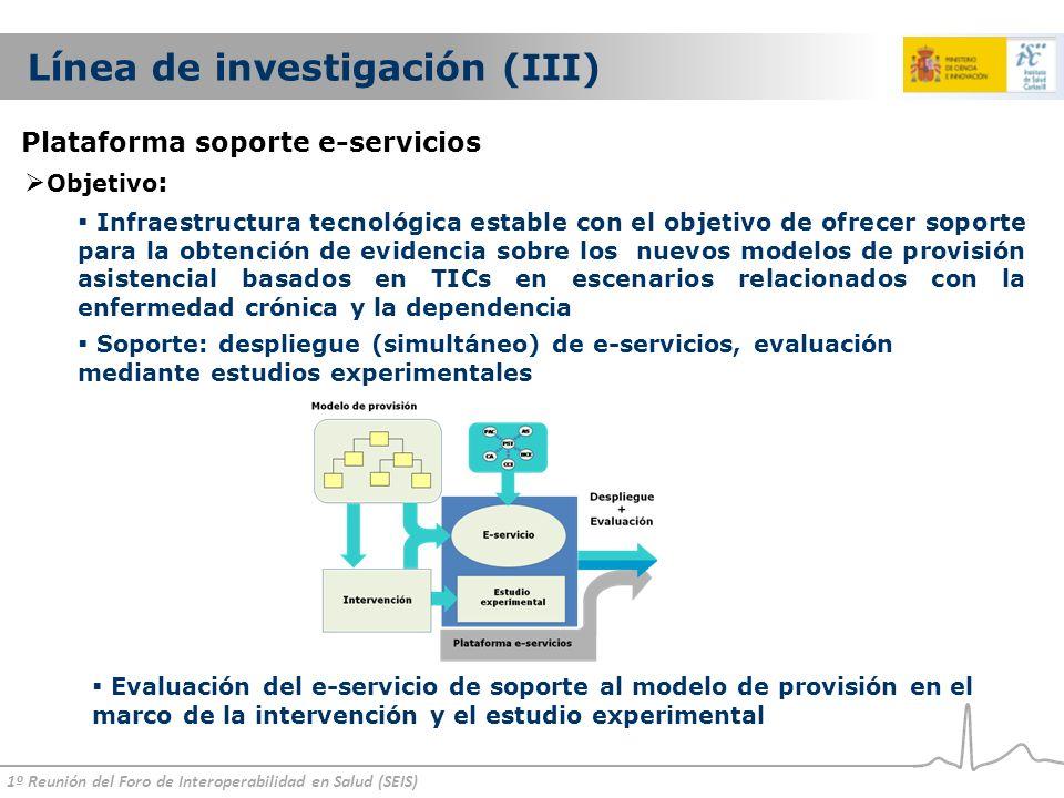 Línea de investigación (III)