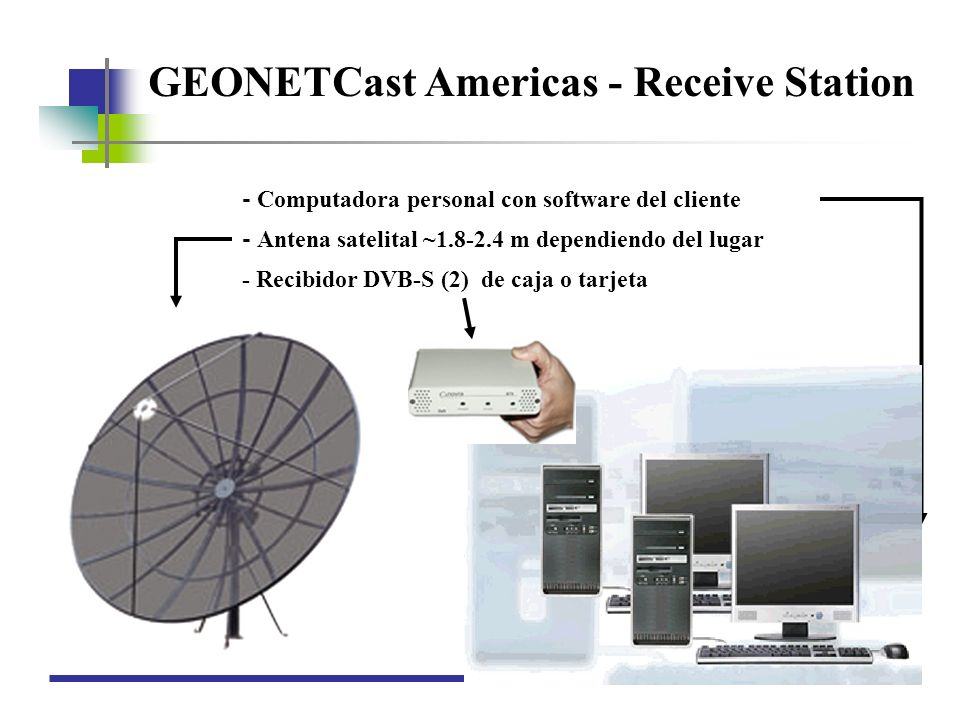 GEONETCast Americas - Receive Station