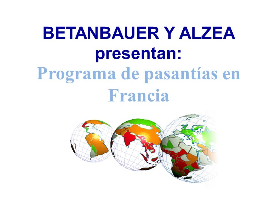 BETANBAUER Y ALZEA presentan: