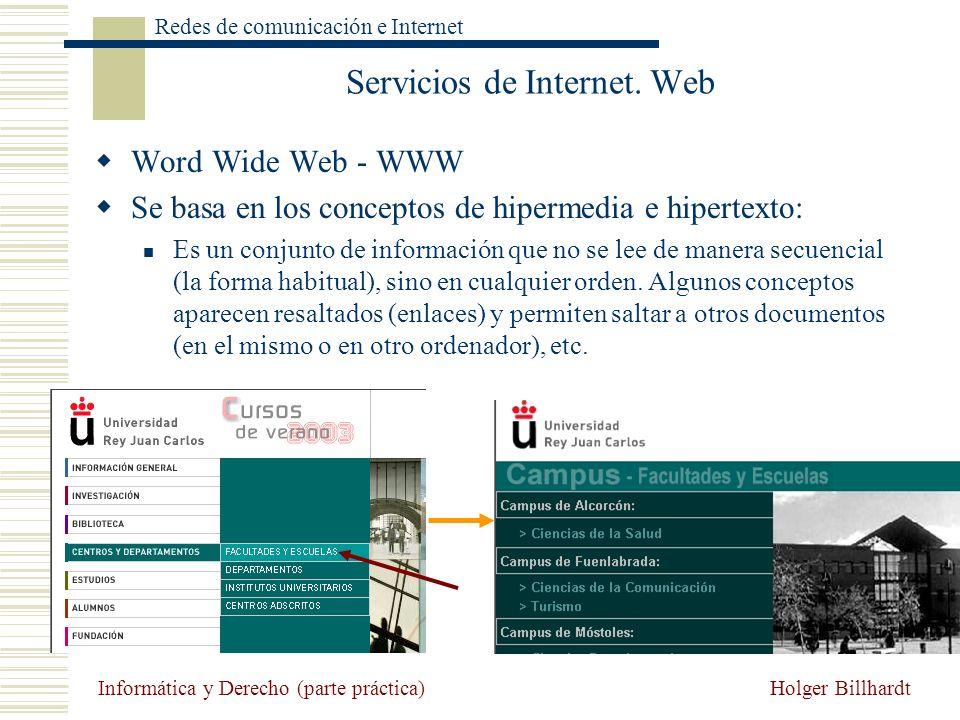 Servicios de Internet. Web