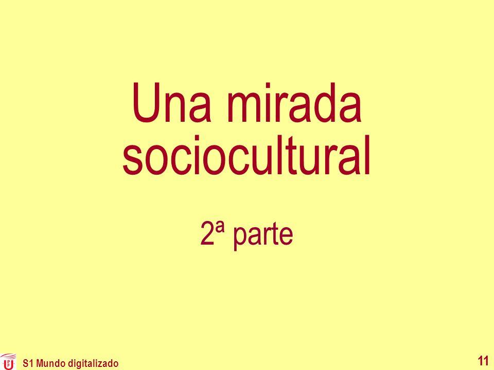 Una mirada sociocultural