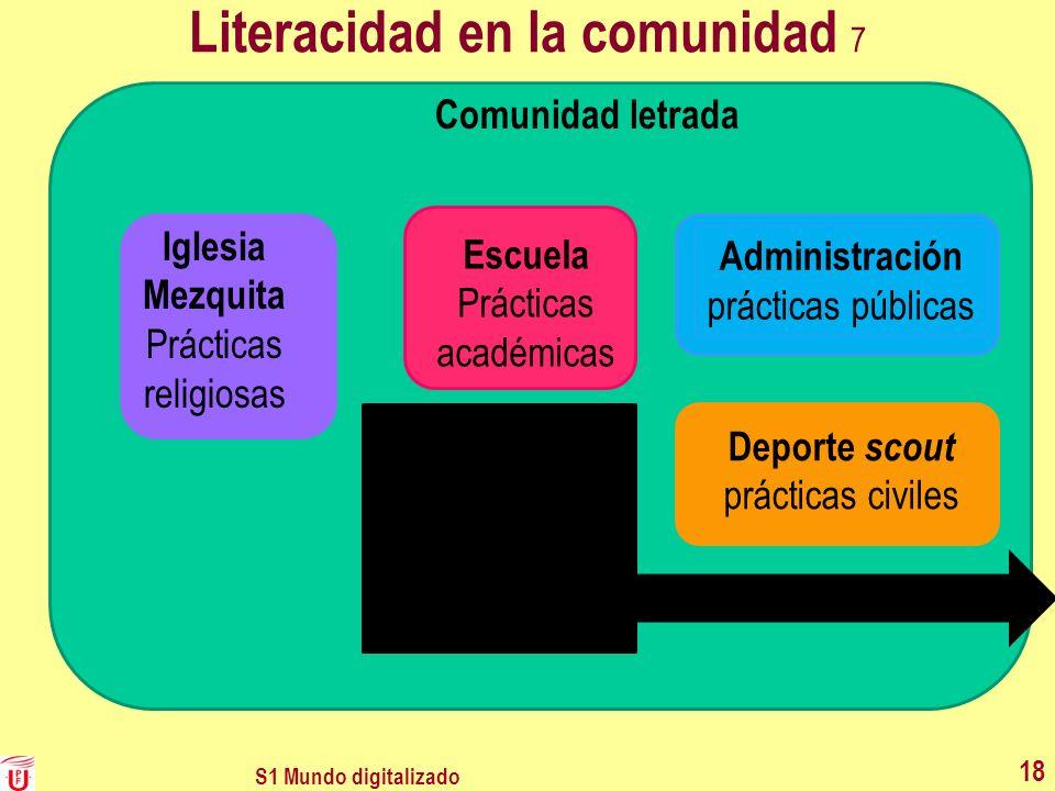Literacidad en la comunidad 7