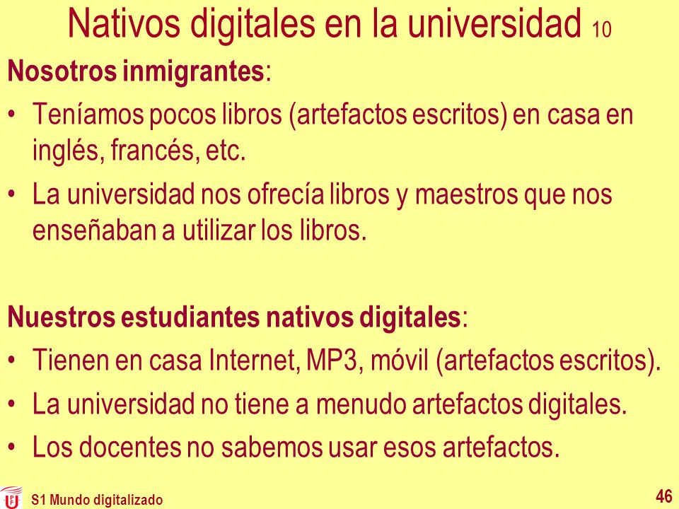 Nativos digitales en la universidad 10