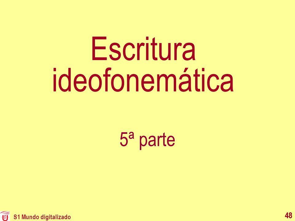Escritura ideofonemática
