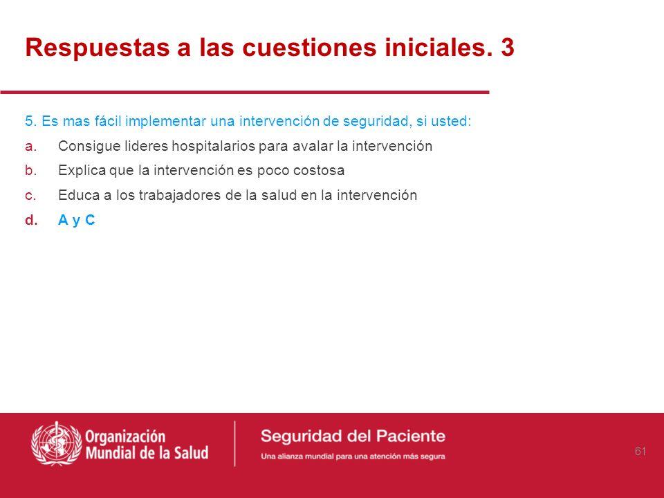 Respuestas a las cuestiones iniciales. 3