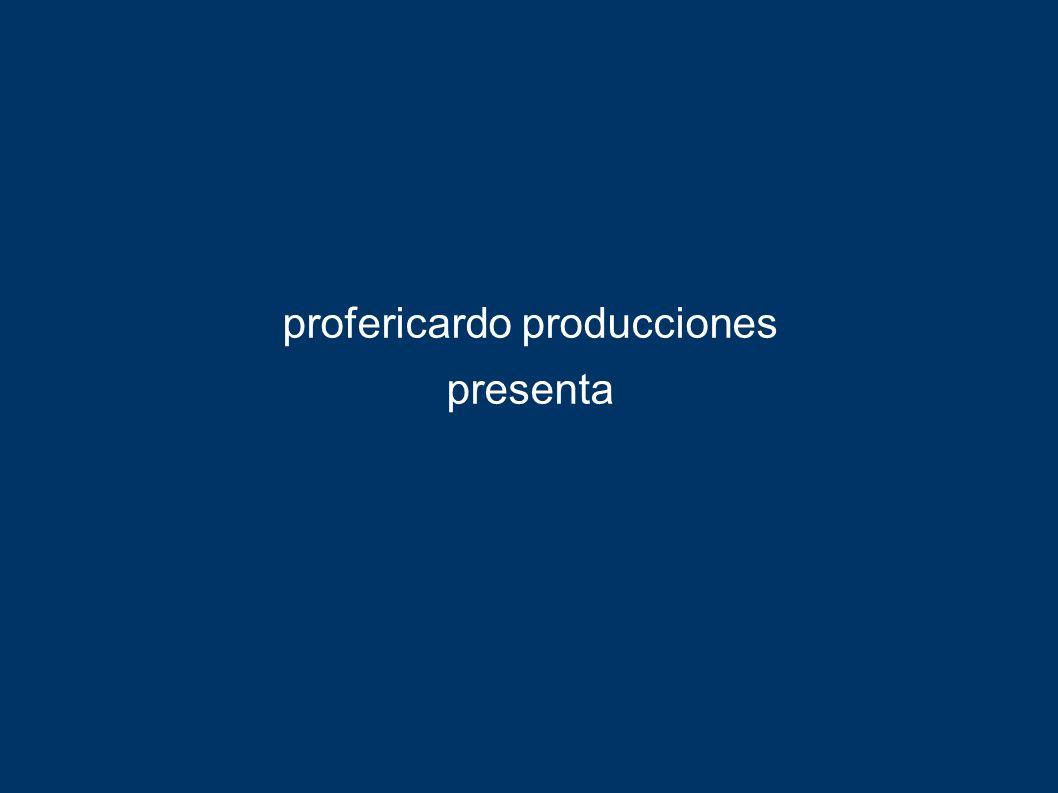 profericardo producciones