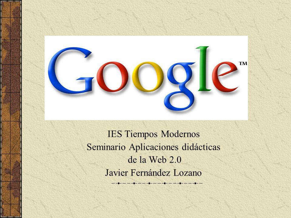 Seminario Aplicaciones didácticas de la Web 2.0
