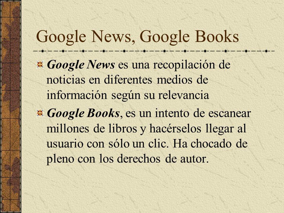 Google News, Google Books