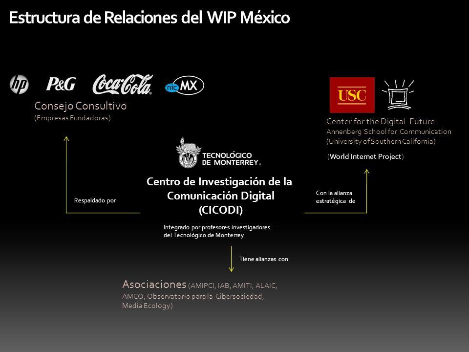 Estructura de Relaciones del WIP México