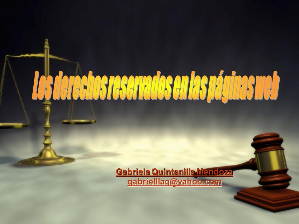 Gabriela Quintanilla Mendoza gabrielllaq@yahoo.com