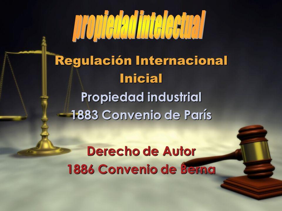 propiedad intelectual Regulación Internacional