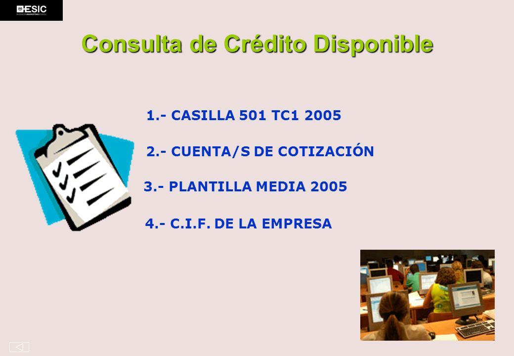 Consulta de Crédito Disponible