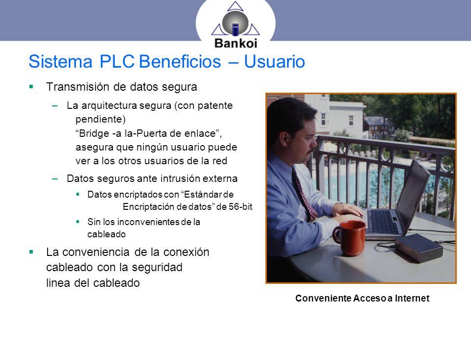 Sistema PLC Beneficios – Usuario