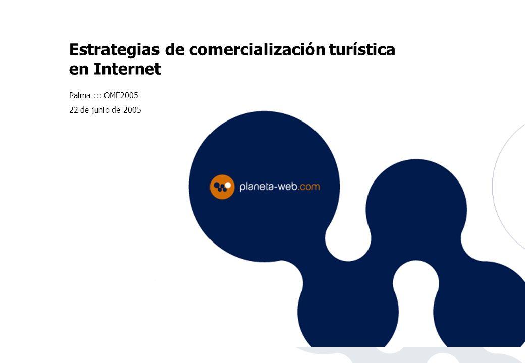 Estrategias de comercialización turística en Internet