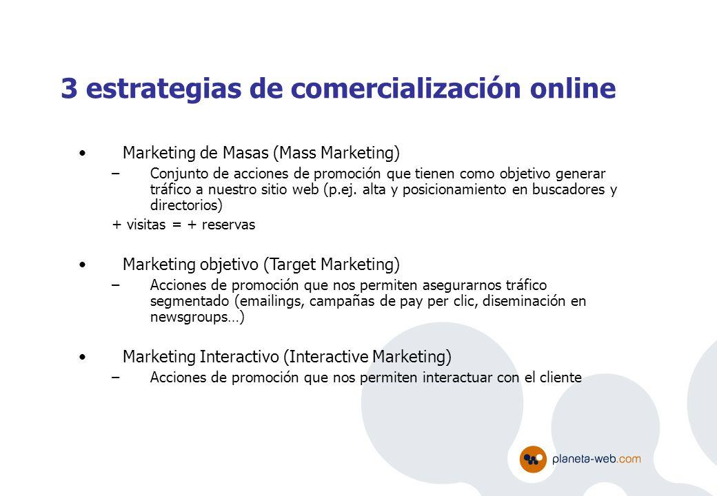 3 estrategias de comercialización online