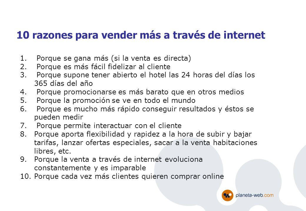 10 razones para vender más a través de internet