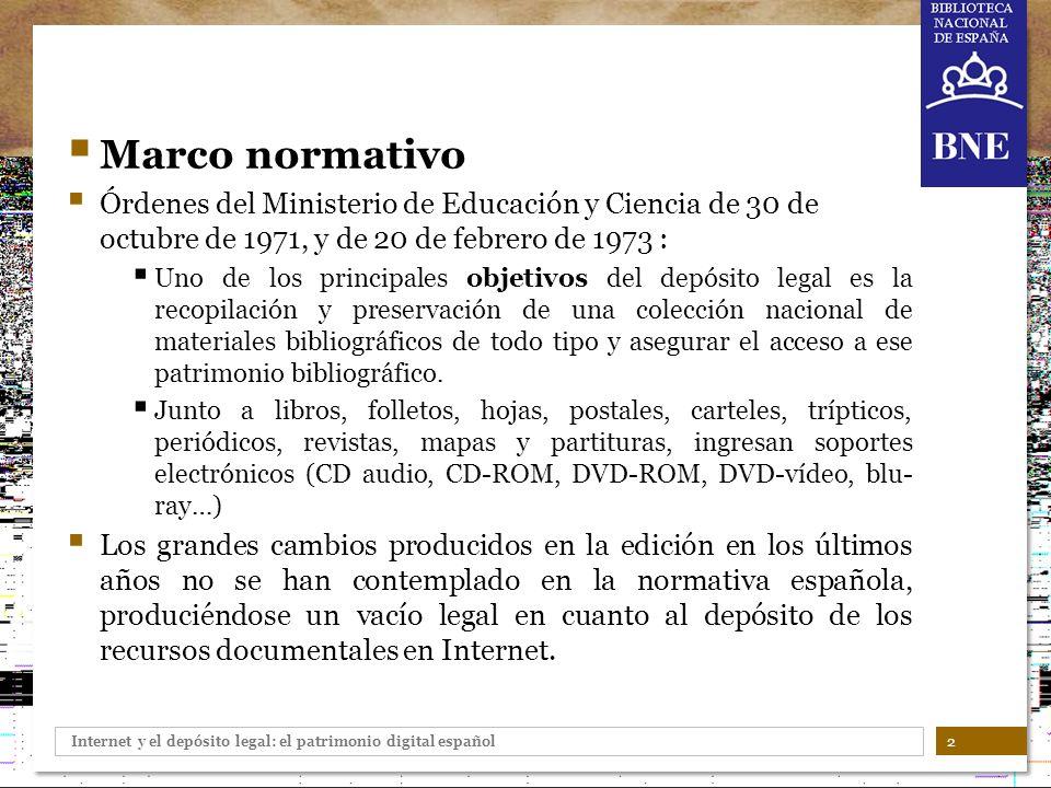 Marco normativo Órdenes del Ministerio de Educación y Ciencia de 30 de octubre de 1971, y de 20 de febrero de 1973 :