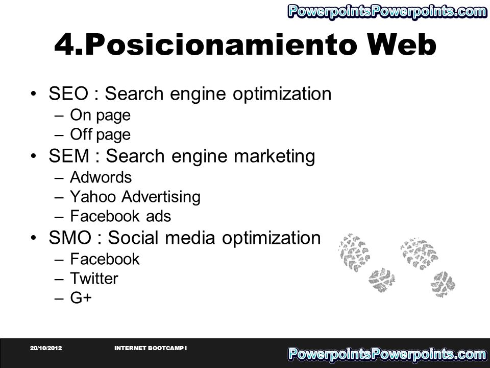 4.Posicionamiento Web SEO : Search engine optimization