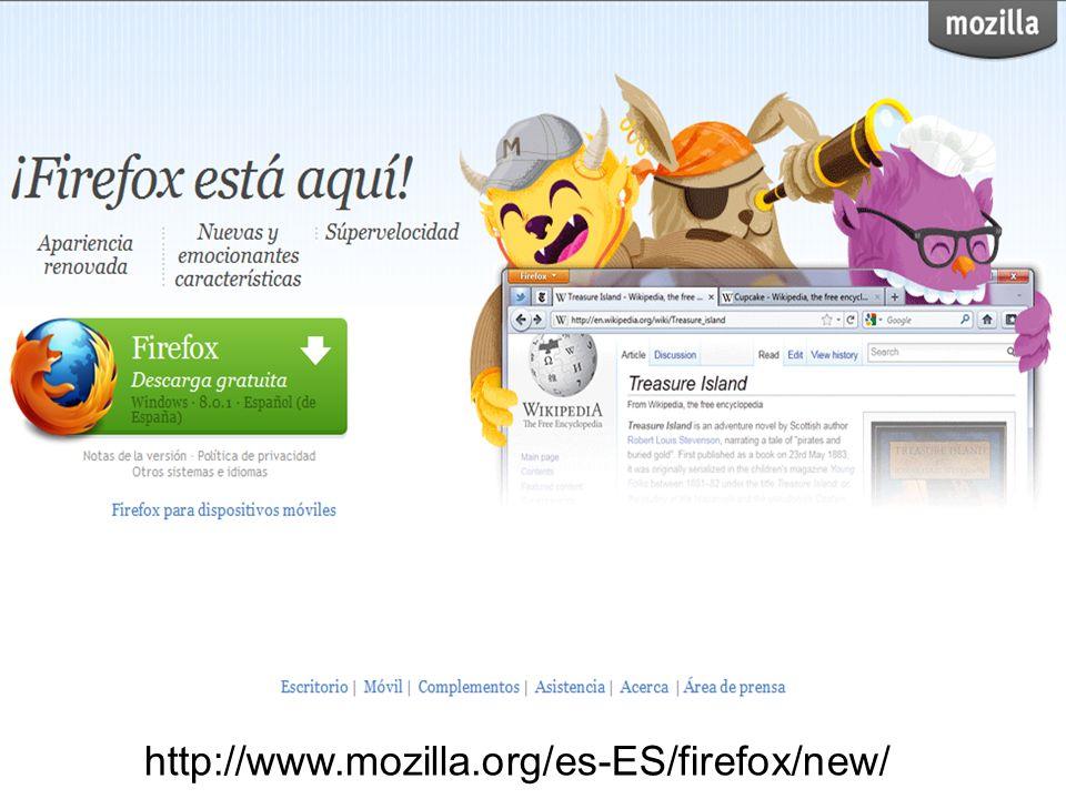 Además de Internet Explorer, existen otras dos opciones viables de navegador que son Mozilla Firefox y Google Chrome, éste último lanzado en septiembre de 2008.