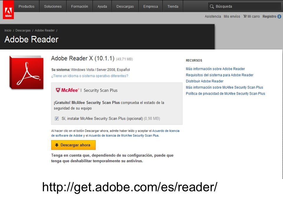 http://get.adobe.com/es/reader/