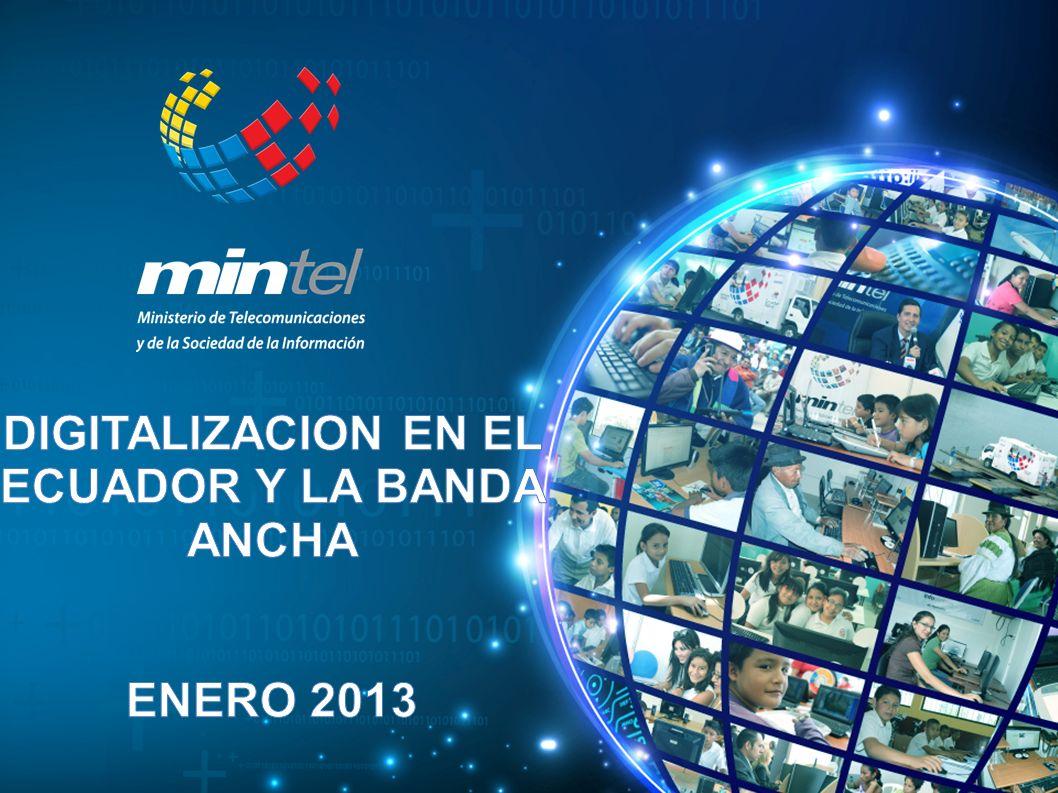 DIGITALIZACION EN EL ECUADOR Y LA BANDA ANCHA